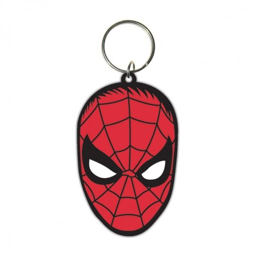 Spiderman - Face Keyring