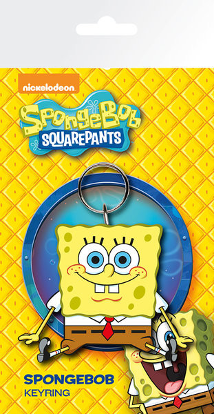 Spongebob - Happy Keyring