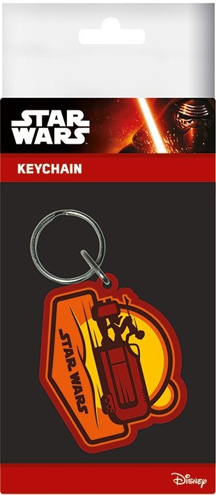 Star Wars Episode VII: The Force Awakens - Rey Speeder Keyring