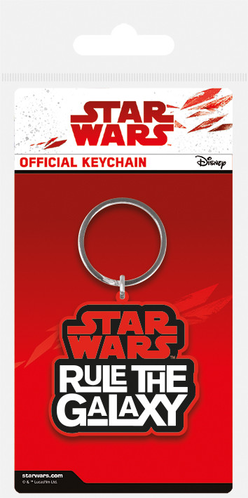 Star Wars The Last Jedi - Rule The Galaxy Keyring