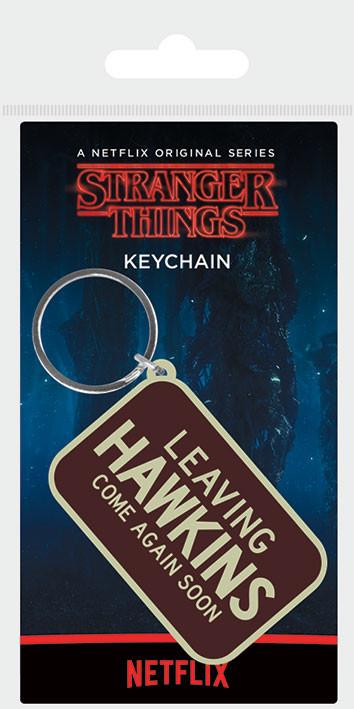 Stranger Things - Leaving Hawkins Keyring
