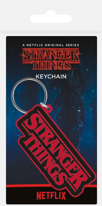 Stranger Things - Logo Keyring