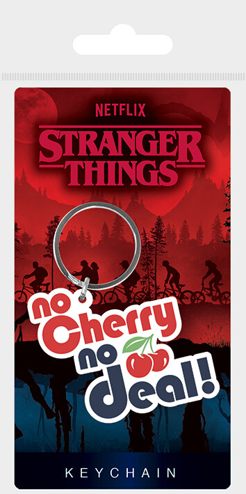Keychain Stranger Things - No Cherry No Deal