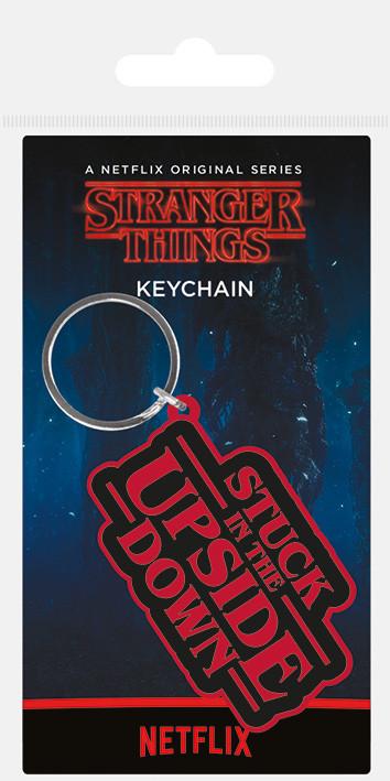Stranger Things - Stuck In The Upside Down Keyring