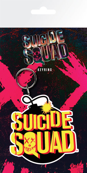 Suicide Squad - Bomb Keyring