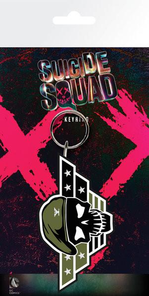Suicide Squad - Rick Flag Keyring