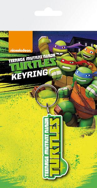 Teenage Mutant Ninja Turtles - Logo Keyring