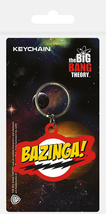 Keychain The Big Band Theory - Bazinga