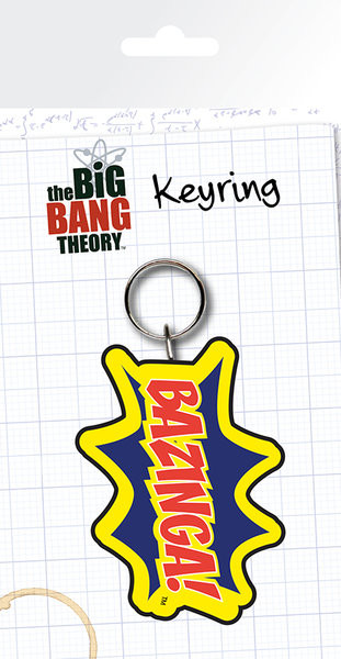 The Big Bang Theory - Bazinga Keyring