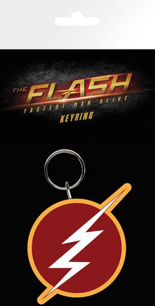 The Flash - Logo Keyring