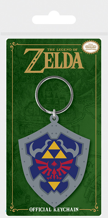 The Legend Of Zelda - Hylian Shield Keyring