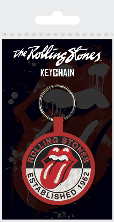 Keychain The Rolling Stones  - Established