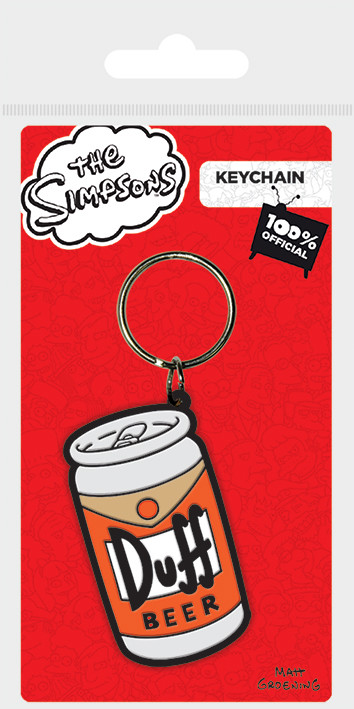 The Simpsons - Duff Keyring