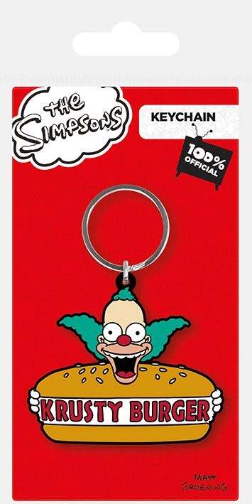 The Simpsons - Krusty Burger Keyring