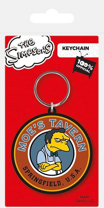 The Simpsons - Moe's Tavern Keyring