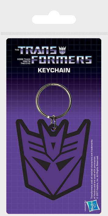 Transformers G1 - Decepticon Shield Keyring