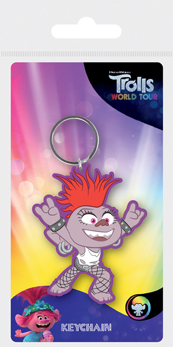 Keychain Trolls World Tour - Barb