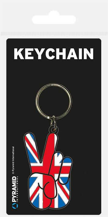 Union Peace Keyring