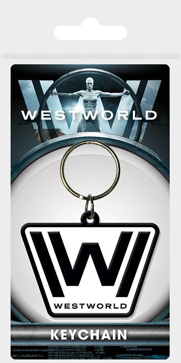 Westworld - Logo Keyring