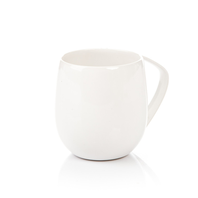 Mug Egg-Shaped White 300 ml Kodinsisustus