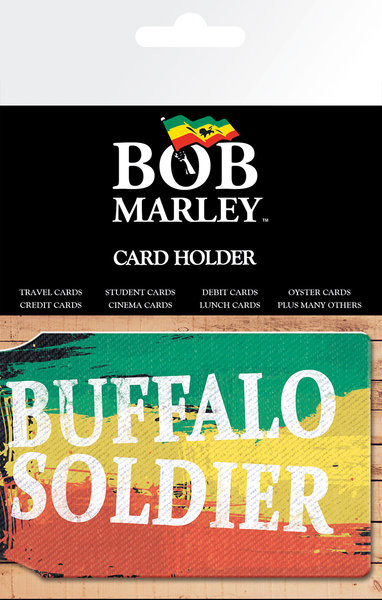 BOB MARLEY - buffalo soldier Korttikotelo