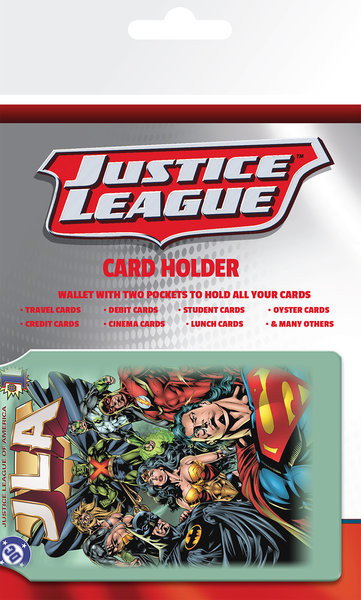 DC Comics - Justice League Korttikotelo