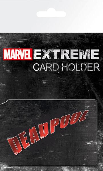 MARVEL - Deadpool Korttikotelo