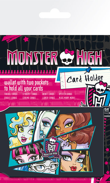 MONSTER HIGH - Ghouls Korttikotelo