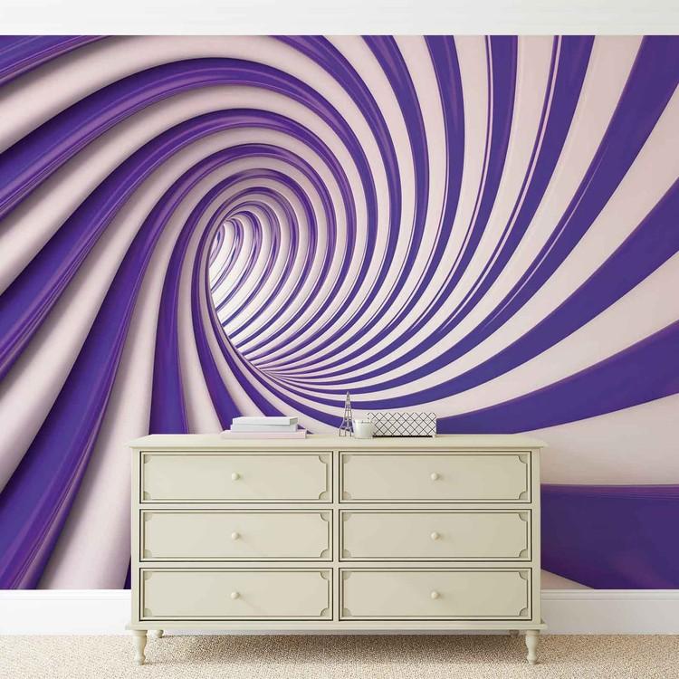 Abstract Swirl Valokuvatapetti