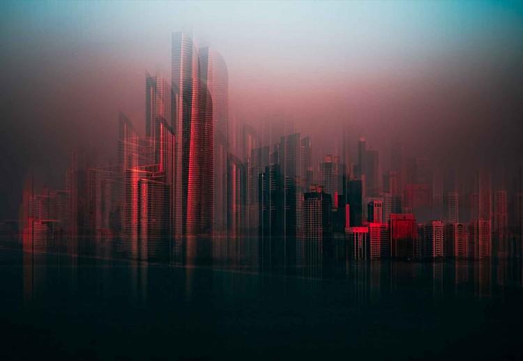 Abu Dahbi Skyline Valokuvatapetti