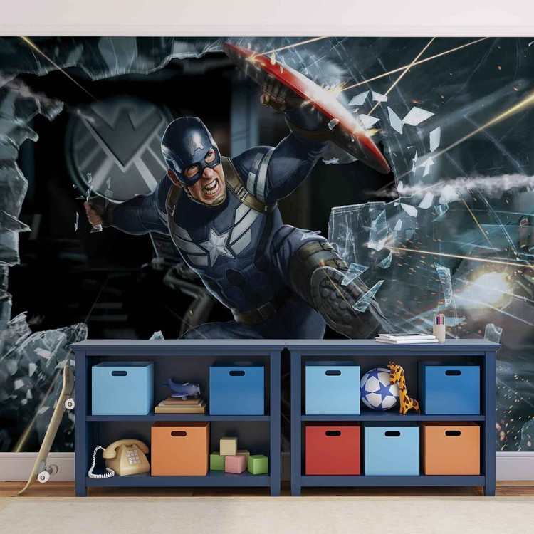 Avengers Captain America Valokuvatapetti