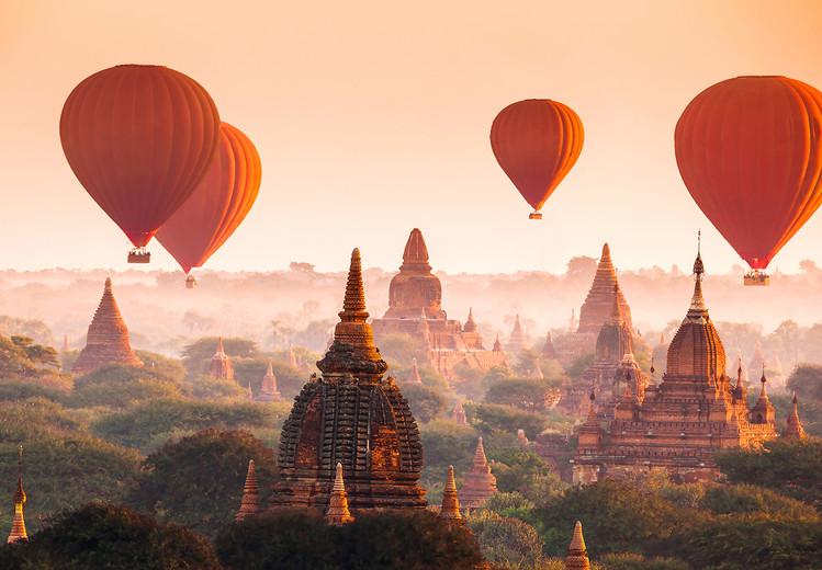 Kuvatapetti, TapettijulisteBallons over Bagan
