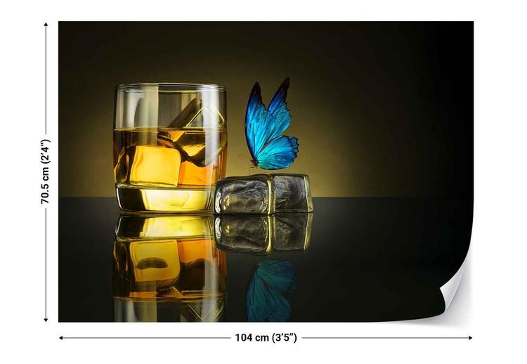 Butterfly Drink Valokuvatapetti