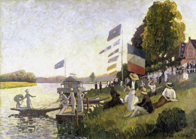 Kuvatapetti, TapettijulisteCamille Pissarro - Regatta