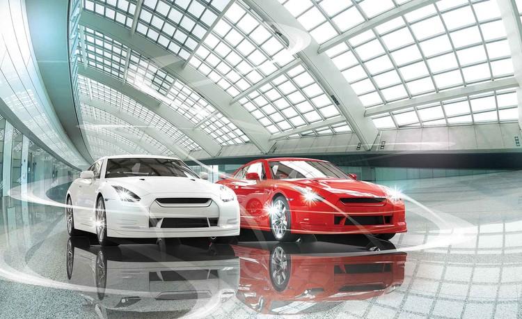 Cars Transport Valokuvatapetti