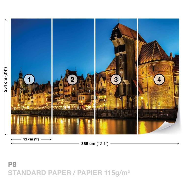 City Skyline Poland Valokuvatapetti