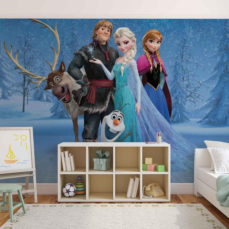Disney Frozen Elsa Anna Olaf Sven Valokuvatapetti