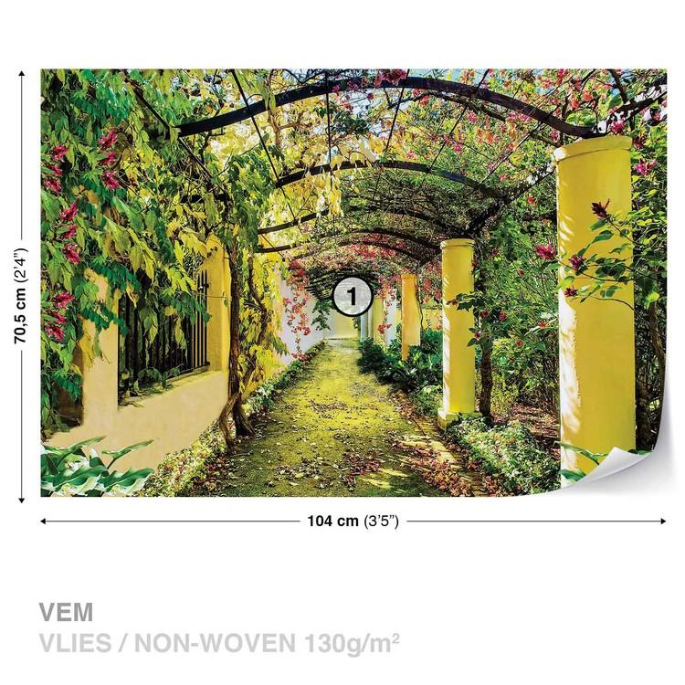 Flowers Floral Garden Valokuvatapetti