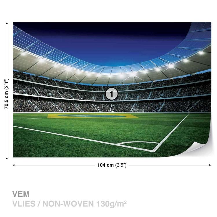 Football Stadium Valokuvatapetti