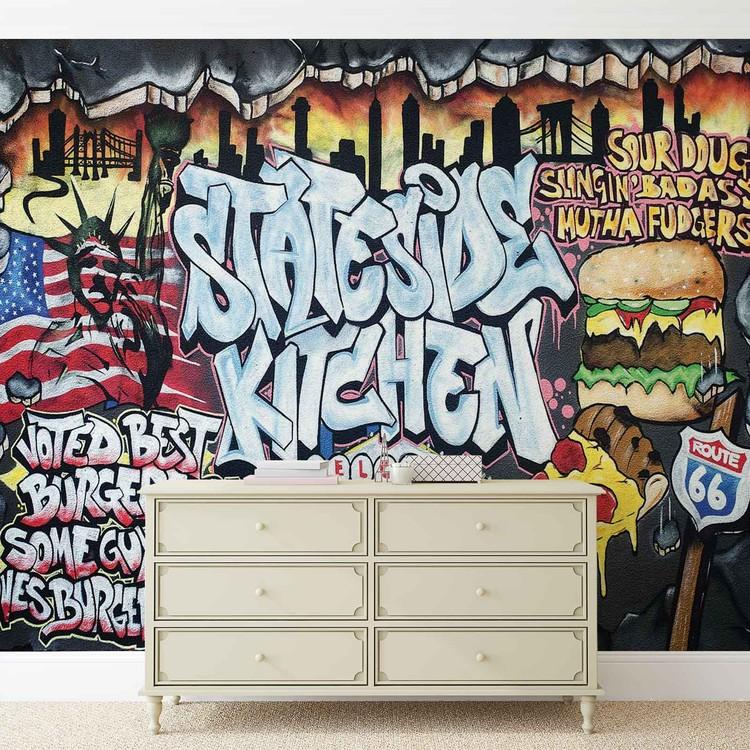 Graffiti Street Art Valokuvatapetti