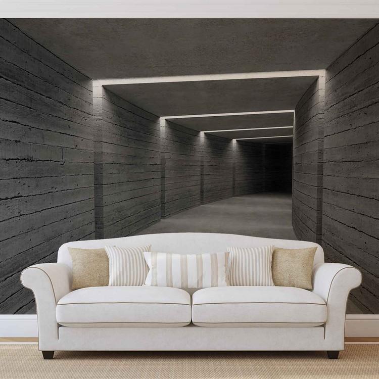 Hallway Ligths Valokuvatapetti