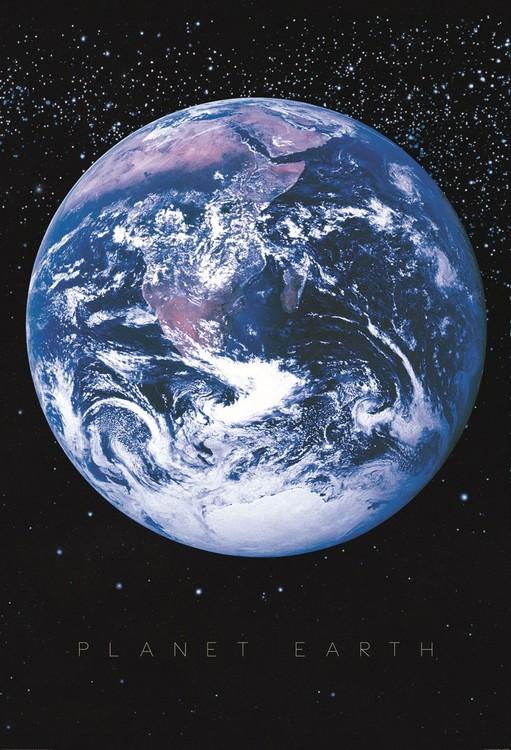 Maapallolla - Maailmankaikkeus Kuvatapetti, Tapettijuliste
