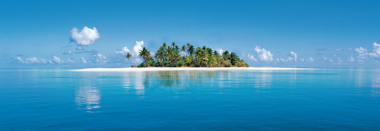 MALDIVE ISLAND Kuvatapetti, Tapettijuliste