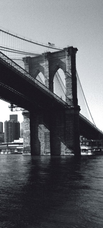 Kuvatapetti, TapettijulisteNew York - Brooklyn Bridge