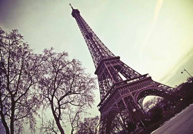 Pariisi - Eiffel torni Kuvatapetti, Tapettijuliste