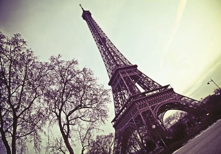 Kuvatapetti, TapettijulistePariisi - Eiffel torni