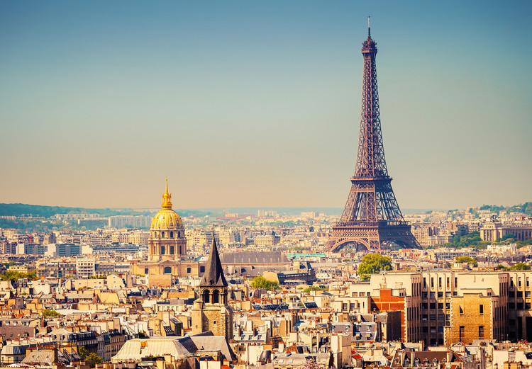 PARIS           Kuvatapetti, Tapettijuliste