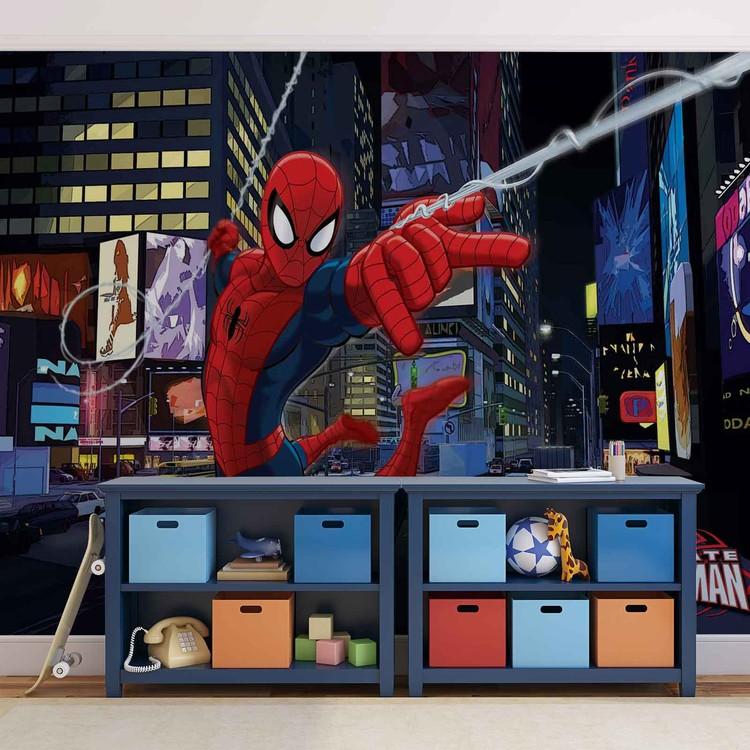 Spiderman Marvel Valokuvatapetti
