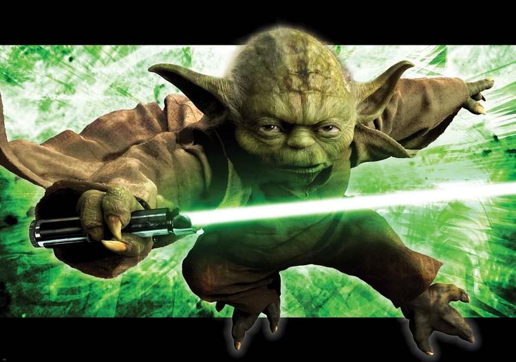 Star Wars Master Yoda Valokuvatapetti