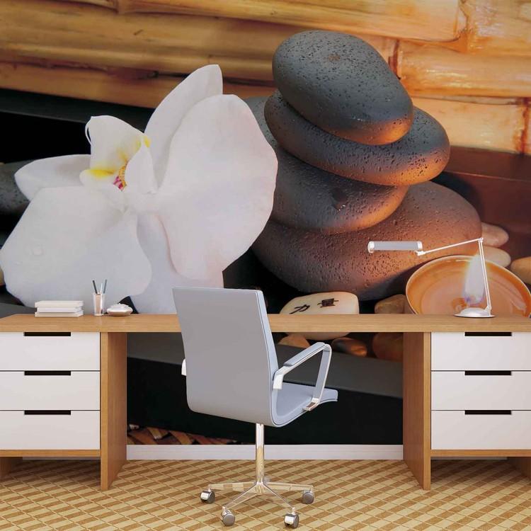Stone Peaceful Zen Valokuvatapetti